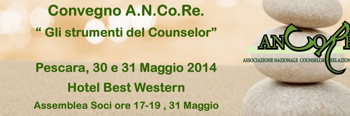 Gli strumenti del counselor: convegno nazionale ANCoRe