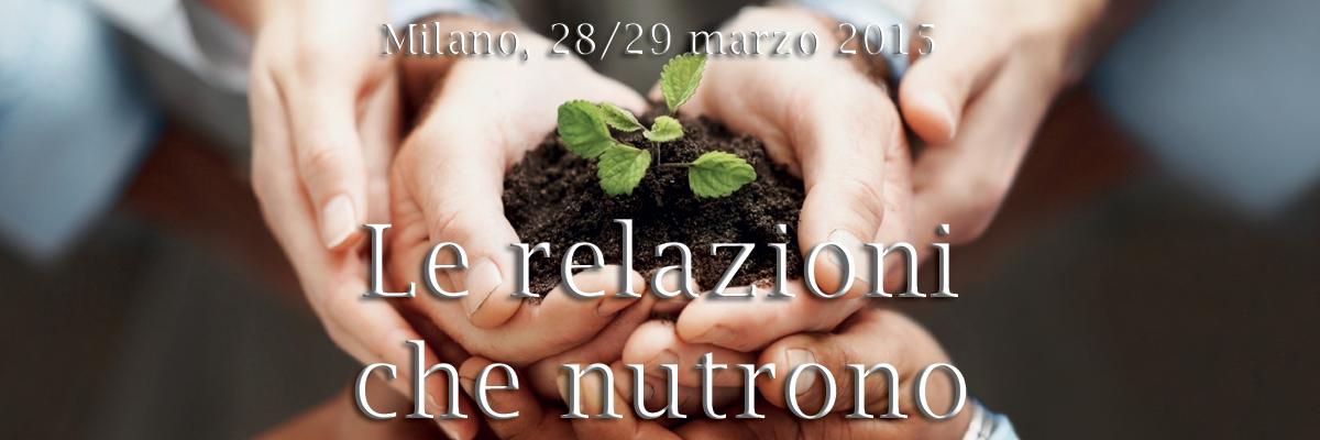 Le relazioni che nutrono: sesto convegno nazionale AssoCounseling