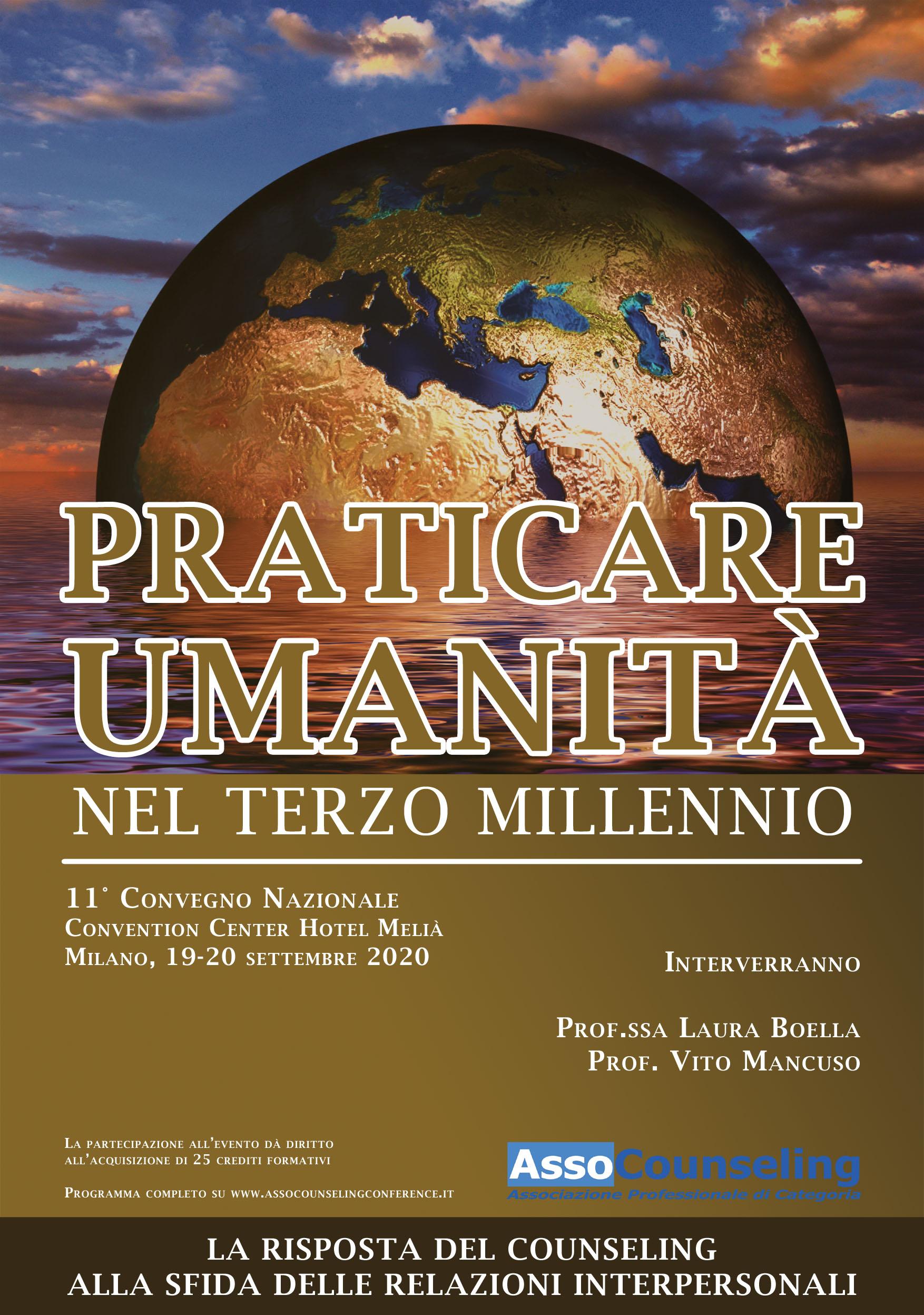 Praticare umanità nel terzo millennio